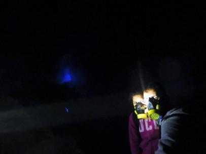 Increíble experiencia de ver el blue fire.
