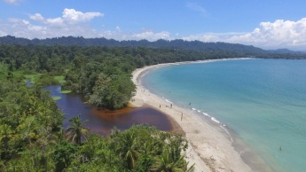 Playas del parque nacional de Cahuita.