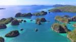 Islas Fam vistas dron